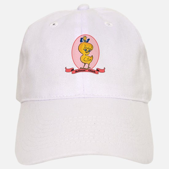 Belizean Chick Baseball Baseball Cap