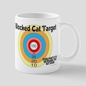 Blocked Cat Target Mug