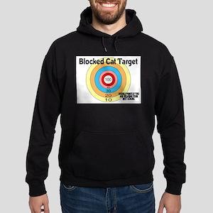 Blocked Cat Target Hoodie (dark)