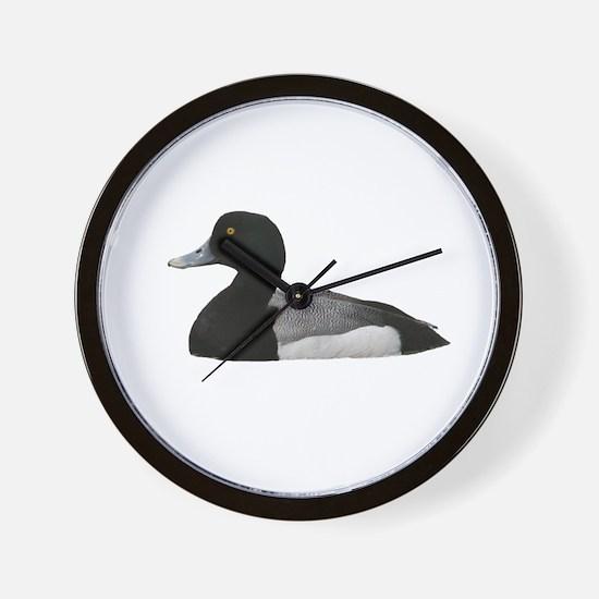 Scaup - Bluebill Wall Clock