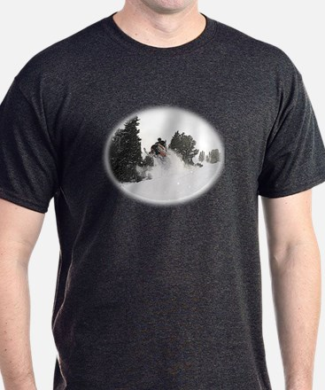 Flying Through Snow T-Shirt