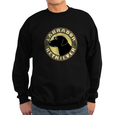 Black Lab Crest - Sweatshirt (dark)