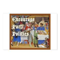 Parti Politics Postcards (Package of 8)