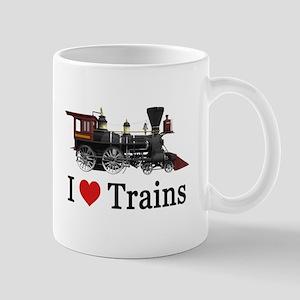 I LOVE TRAINS Mug