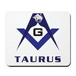 Masonic Taurus Mousepad