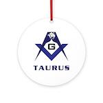 Masonic Taurus Ornament (Round)