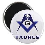 Masonic Taurus Magnet