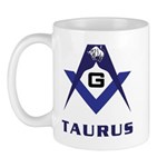 Masonic Taurus Mug