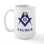 Masonic Taurus Large Mug