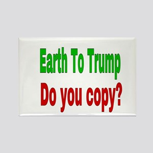 Earth To Trump Magnets