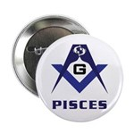 Masonic Pisces Sign 2.25