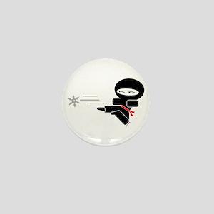 Lil Ninja Mini Button