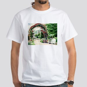 Idaho Botanical Garden White T-Shirt