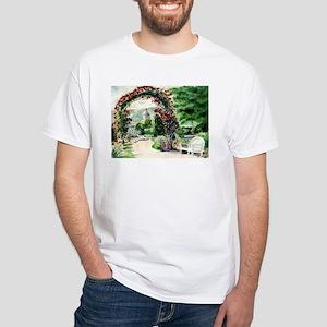 Idaho Botanical Garden White T-Shirt