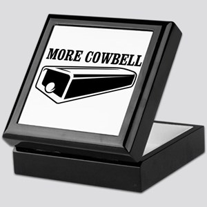 more cowbell Keepsake Box