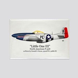 Little One/Bryan Stuff Rectangle Magnet (10 pack)