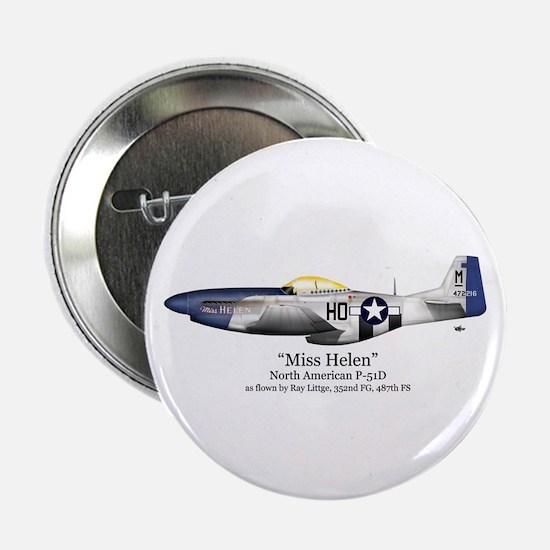 """Miss Helen Stuff 2.25"""" Button (10 pack)"""