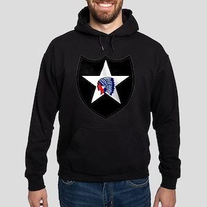 2nd Infantry Division Hoodie (dark)
