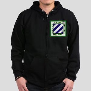 3rd ID Zip Hoodie (dark)
