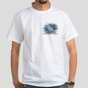 Hawaiin Style White T-Shirt