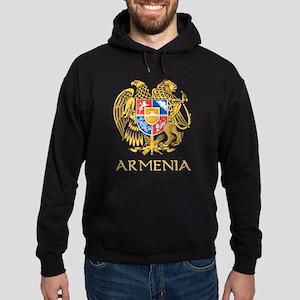 Armenian Coat of Arms Hoodie (dark)