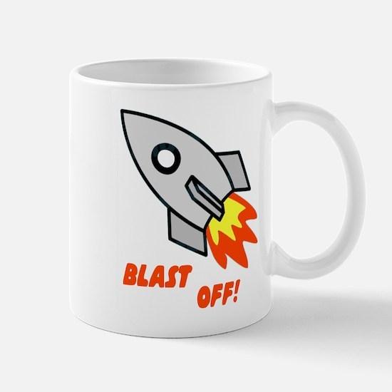 BLAST OFF! Mug