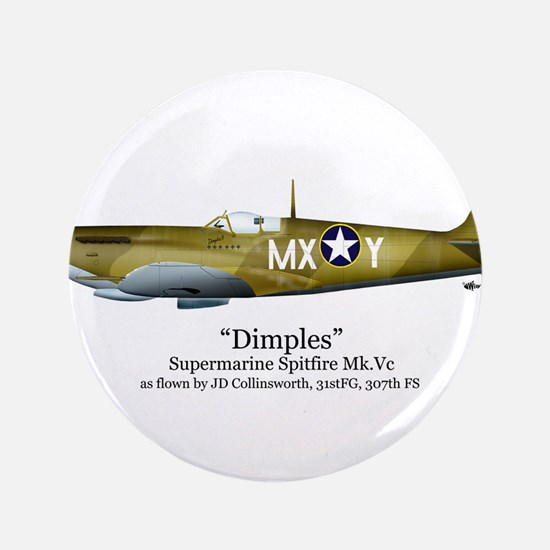"Dimples/Collinsworth Stuff 3.5"" Button"