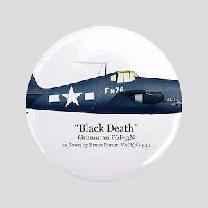 "Black Death/Porter Stuff 3.5"" Button"
