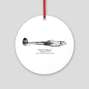 Dell-O-Mine/Hawley Stuff Ornament (Round)