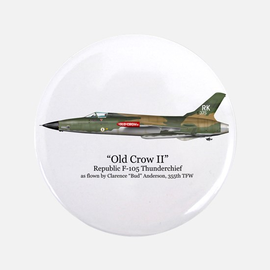 """Old Crow II/Anderson Stuff 3.5"""" Button"""
