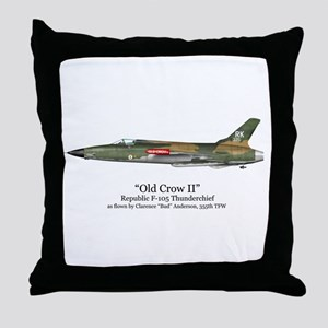 Old Crow II/Anderson Stuff Throw Pillow