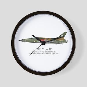 Old Crow II/Anderson Stuff Wall Clock