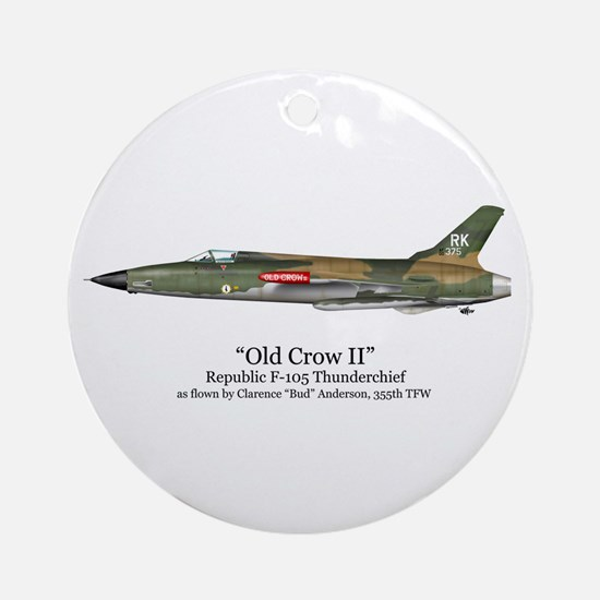 Old Crow II/Anderson Stuff Ornament (Round)