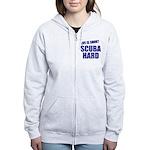 Scuba Hard Women's Zip Hoodie