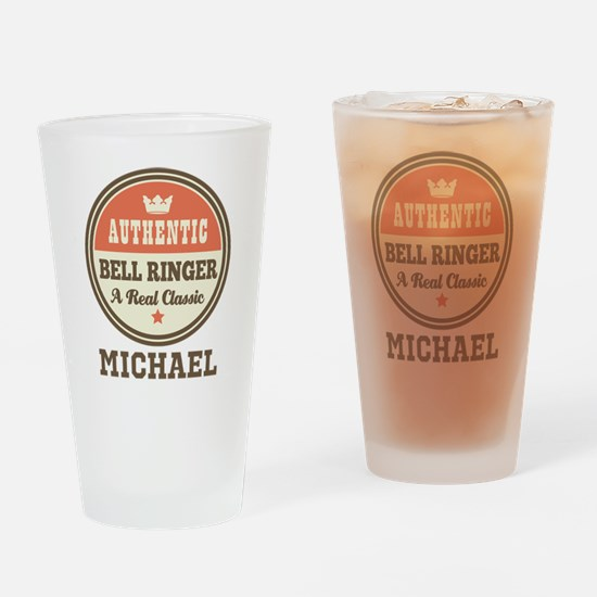 Personalized Bell Ringer Gift Drinking Glass