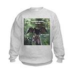 Soggy Anhinga Kids Sweatshirt