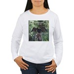 Soggy Anhinga Women's Long Sleeve T-Shirt