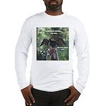 Soggy Anhinga Long Sleeve T-Shirt