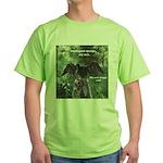 Soggy Anhinga Green T-Shirt