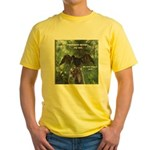 Soggy Anhinga Yellow T-Shirt