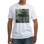Soggy Anhinga Fitted T-Shirt