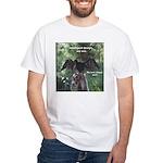 Soggy Anhinga White T-Shirt