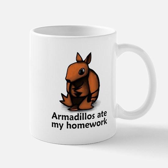 Armadillos ate my homework Mug