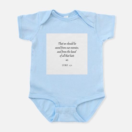 LUKE  1:71 Infant Creeper