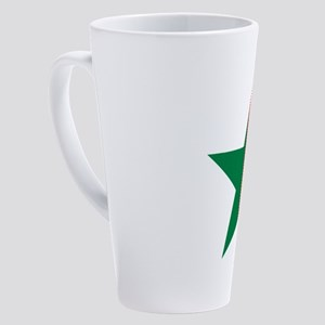 Portugal star 17 oz Latte Mug