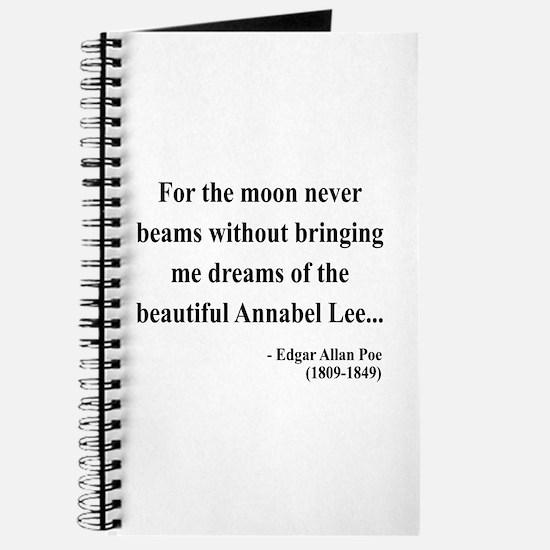 Edgar Allan Poe 22 Journal