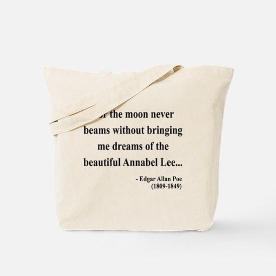 Edgar Allan Poe 22 Tote Bag