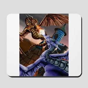 Battle of the Dragons Keep Mousepad