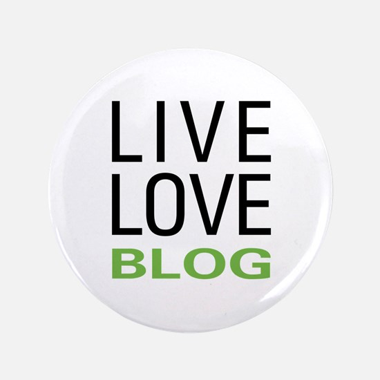 "Live Love Blog 3.5"" Button (100 pack)"
