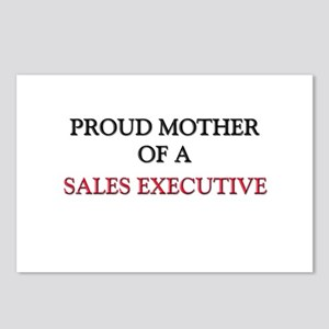 Proud Mother Of A SALES EXECUTIVE Postcards (Packa